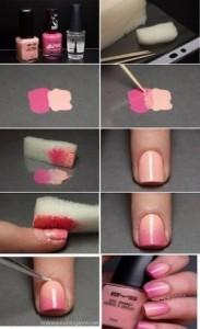 Простые ногти гель лаком в домашних условиях фото