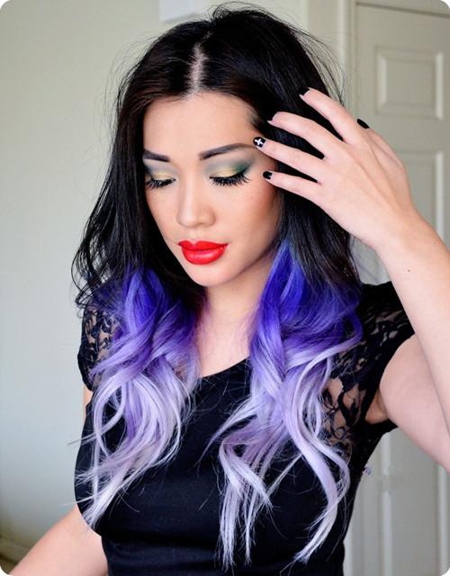 black-to-purple