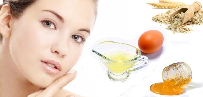 Egg-White-Face-Mask-with-Oatmeal-for-Exfoliation