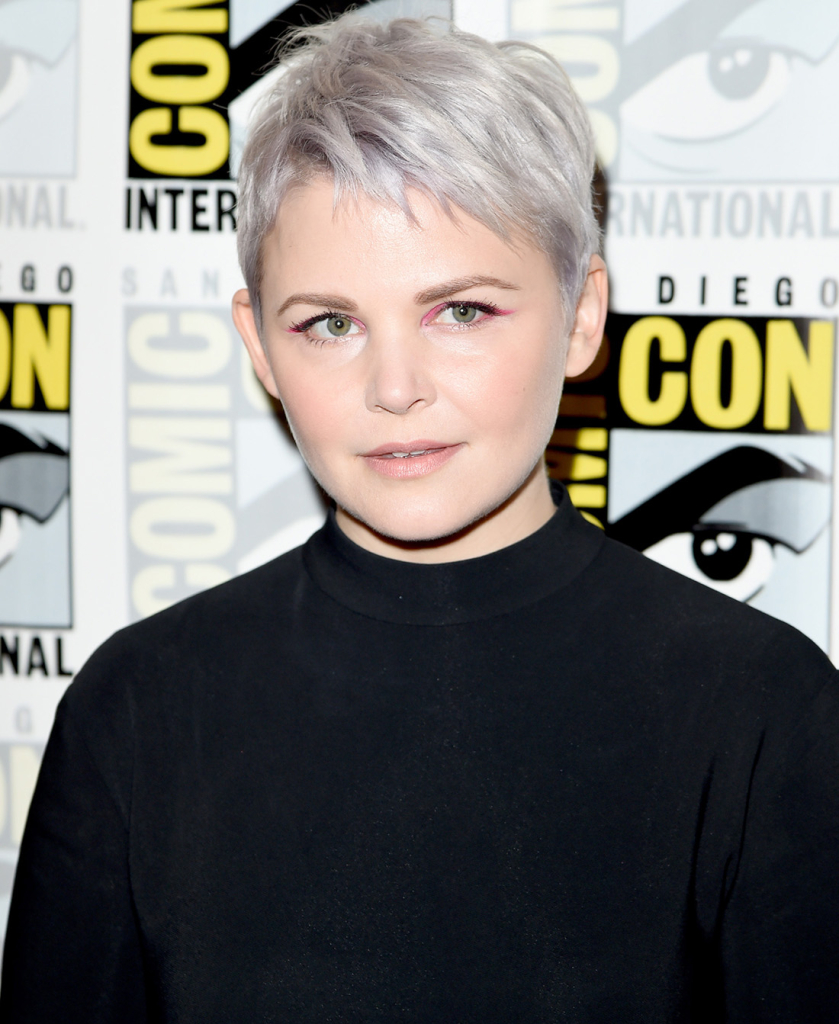 "SAN DIEGO, CA - JULY 11: Actress Ginnifer Goodwin attends the ""Once Upon A Time"" press room during Comic-Con International 2015 at the Hilton Bayfront on July 11, 2015 in San Diego, California. (Photo by Jason Merritt/Getty Images)"