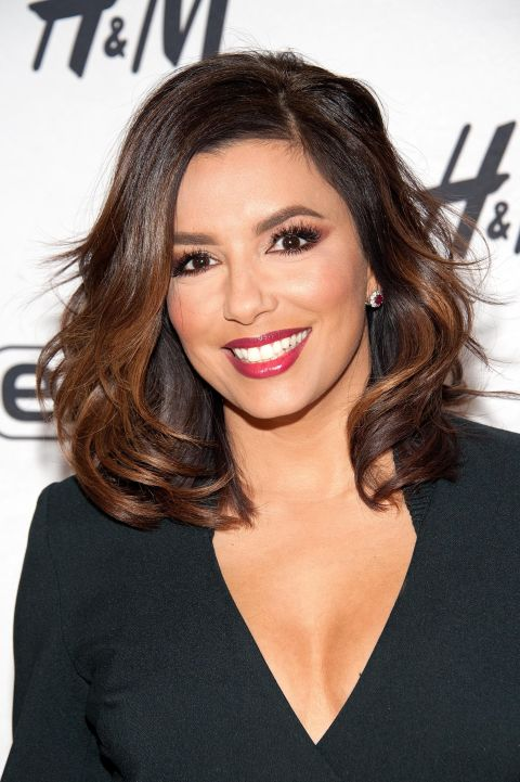eva-longoria-balayage-hair-color