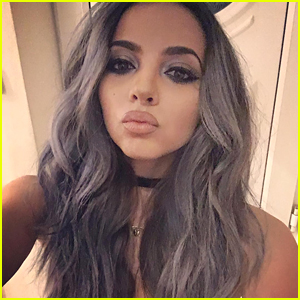 jade-thirlwall-grey-hair-color