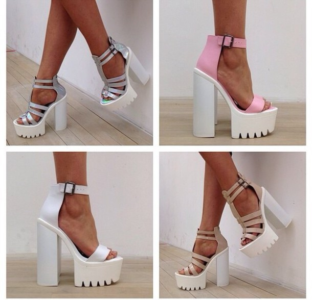 nv30m9-l-610x610-shoes-high+heels-chunky+heels-white+heels-block+heels-style-fashion-pink-metallic+heels-ankle+strap
