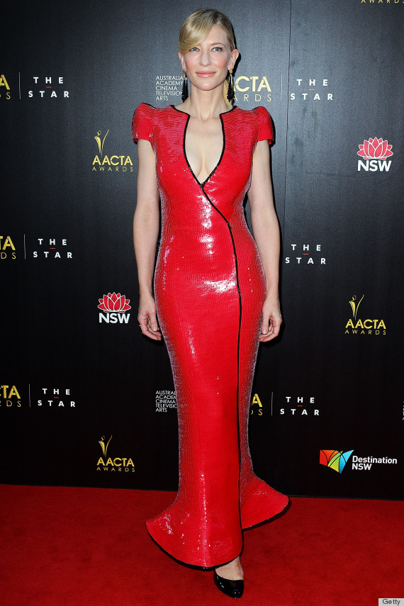 SYDNEY, AUSTRALIA - JANUARY 30: Cate Blanchett arrives at the 2nd Annual AACTA Awards at The Star on January 30, 2013 in Sydney, Australia. (Photo by Lisa Maree Williams/Getty Images)