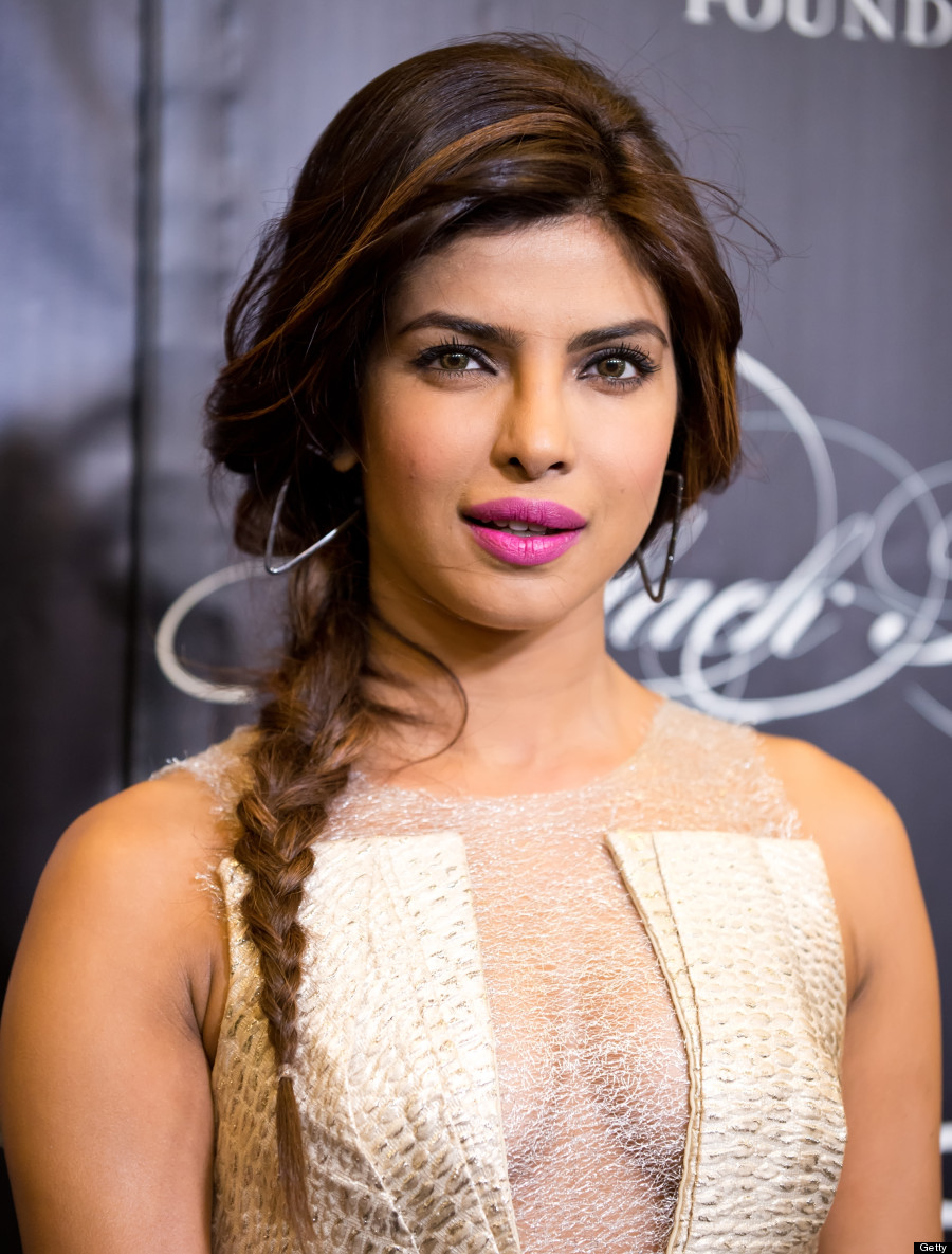 NEW YORK, NY - NOVEMBER 07: Actress Priyanka Chopra attends the 10th annual Keep A Child Alive Black Ball at Hammerstein Ballroom on November 7, 2013 in New York City. (Photo by Gilbert Carrasquillo/FilmMagic)
