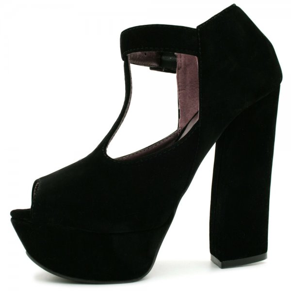 womens-black-suede-style-peep-toe-curved-block-heel-platform-ankle-shoe-boots-p313-1081_image