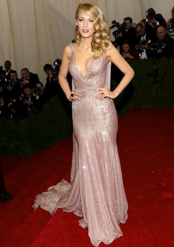 'Charles James: Beyond Fashion' Costume Institute Gala at the Metropolitan Museum of Art - Outside Arrivals Featuring: Blake Lively Where: New York, New York, United States When: 06 May 2014 Credit: Andres Otero/WENN.com