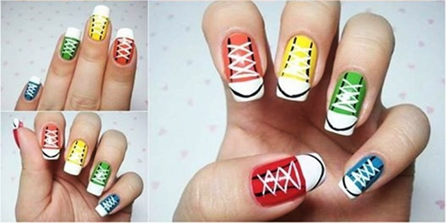 diy-nail-art-sneaker-warna-warni-kece-dan-stunning,