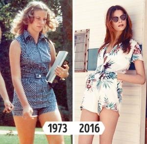 fashion dulu sekarang