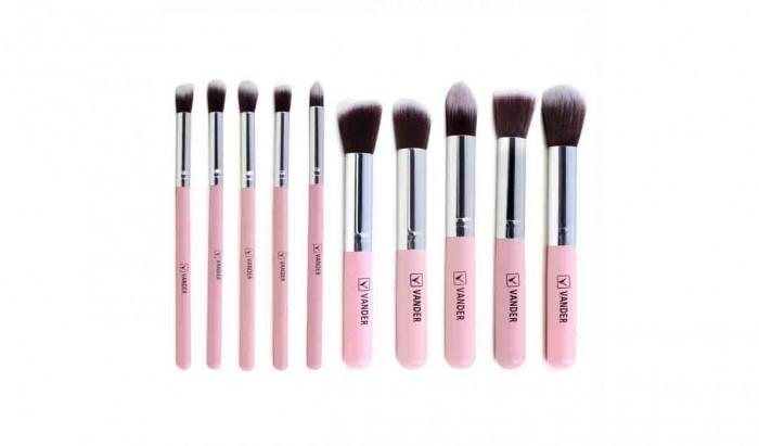 REVIEW Vander Makeup Brush Set , Tampil Cantik